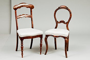 6. A SET OF TWO CHAIRS.
