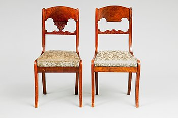 12. TWO CHAIRS.