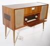Radiogrammofon, teak 1960-tal.