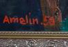 Amelin, albin, olja på duk, sign o dat -50.