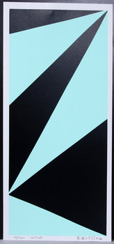 OLLE BAERTLING, färgserigrafi, sign och numr 46/300.