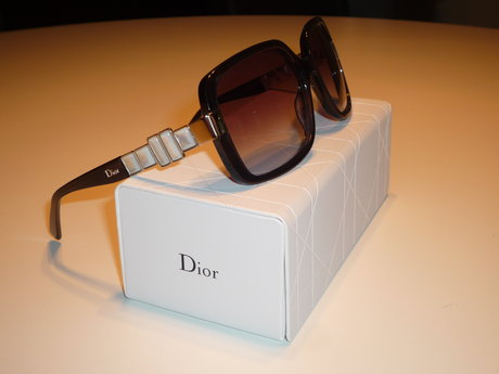 "Glasögonbåge, modell ""diorzenaid"". christian dior. skänkta av safilo."
