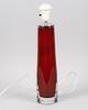Bordsarmatur, glas. orrefors. design c. fagerlund.