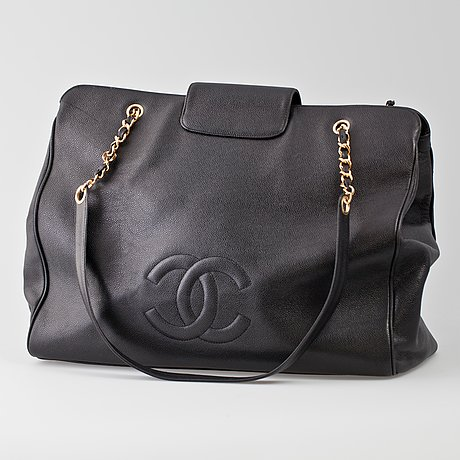 A chanel bag, late 20th cent.