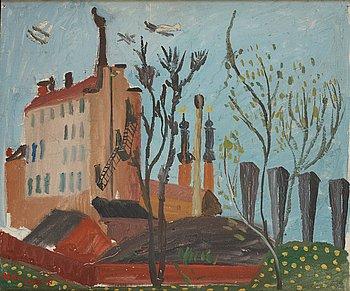 471. Sven X:et Erixson, Landscape in springtime.