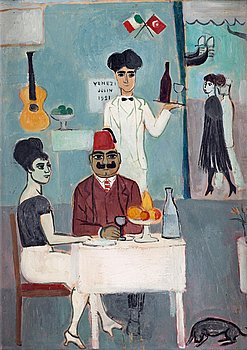 1. Einar Jolin, At the restaurant, Venice.