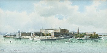 66. ANNA PALM DE ROSA, The royal palace in Stockholm.