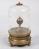 Klocka, mässing, glas, 1900-tal.