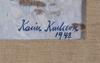 Karlsson, karin. olja på duk. sign och dat 1948.