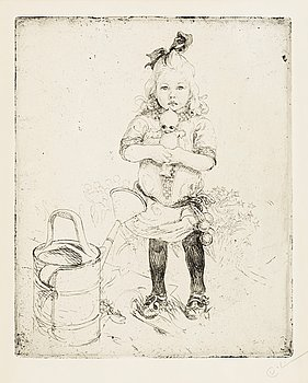 "152. Carl Larsson, ""The strange doll""."