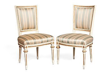 6. A PAIR OF CHAIRS.