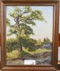 MellstrÖm, rolf. olja på pannå, sign o dat 1936