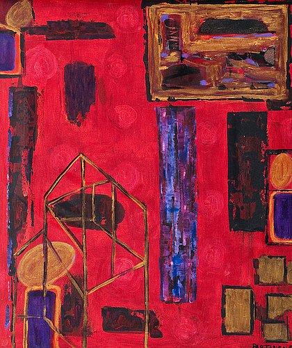 """Pauli partanen, """"a red house"""""""