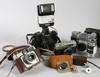 Parti kameror samt kameradelar