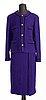 A two-piece chanel suit, autumn 1993.
