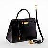 "A 1980's hermès handbag ""kelly""."