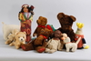 Parti nallar och dockor, ca. 25 st.
