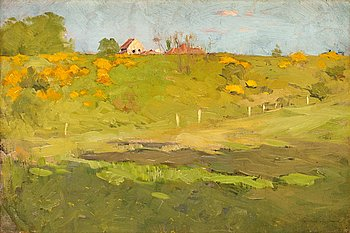 4. GEORG PAULI, French landscape.