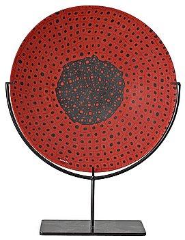 11. A Carlo Scarpa 'Murrine Opache' glass bowl, Venini, Italy.