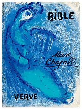 "372. Marc Chagall, ""Dessins pour la Bible"", Verve Vol VIII, No 33-34."