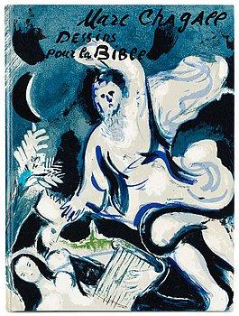 "373. Marc Chagall, ""Dessins pour la bible"", Verve Vol X, No 37-38."