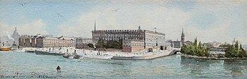67. Anna Palm de Rosa, Stockholm castle.