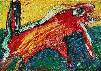 """247. Bengt Lindström, """"Den röda iguanen""""."""