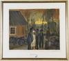 Person, ragnar, handkolorerade litografier, 2 st. sign o nr 153/200, samt 139/200.
