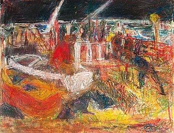 15. Rafael Wardi, VIEW FROM HARAKKA.
