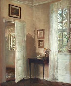 239. CARL HOLSOE, Interior.