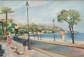 117. SIRI RATHSMAN, Promenade des Anglais Nizza.
