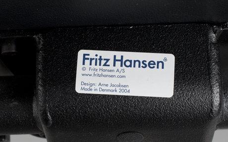 """Skrivbordsstol, """"oxford"""", arne jacobsen, fritz hansen, danmark, 2004."""