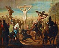 PEHR HÖRBERG, The Crucifixion. Signed P. Hö...