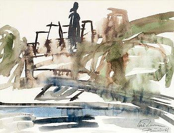 8. Ahti Lavonen, A VIEW OF PARIS.