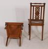 Stolar, ett par. nyrenässans, 1800 talets senare hälft