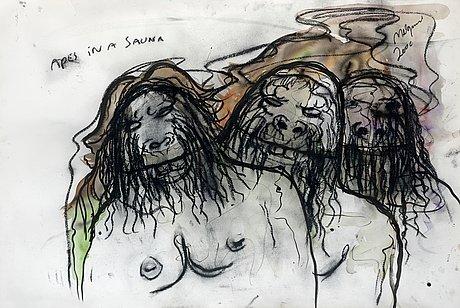 Bjarne melgaard, untitled.