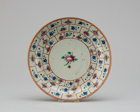 A qing dynasty, early 19th century charger.