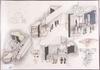 Oldenburg, acke, 9 st, litografier, sign o numr 86/225.