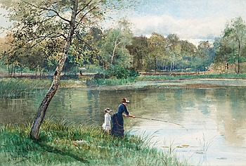 100. Anna Gardell-Ericson, Fishing.