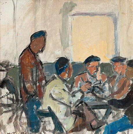 Åke mattas, men around the table