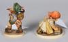Figuriner, 2st, porslin, hummel, goebel.