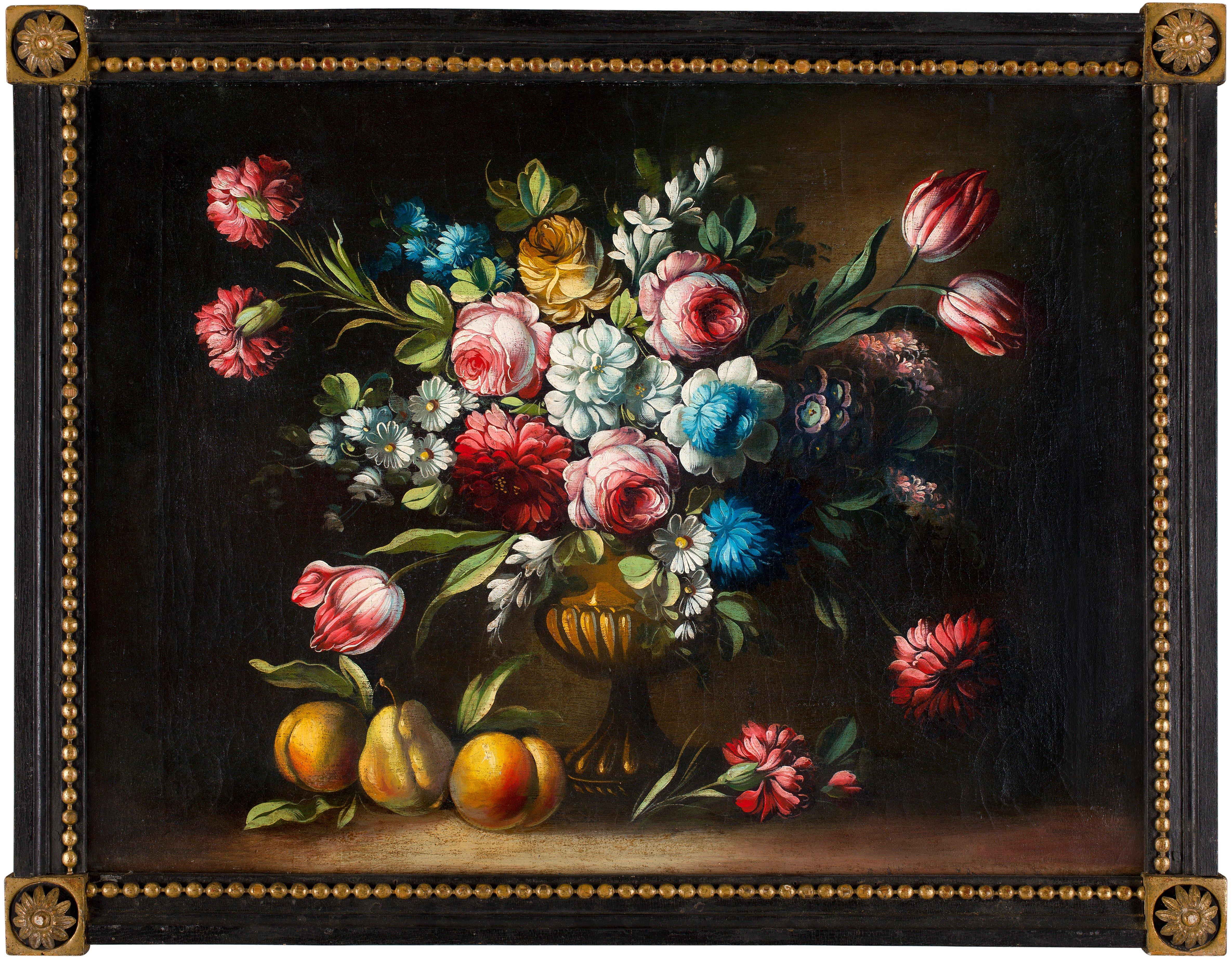 stilleben med blommor och frukter bukowskis. Black Bedroom Furniture Sets. Home Design Ideas