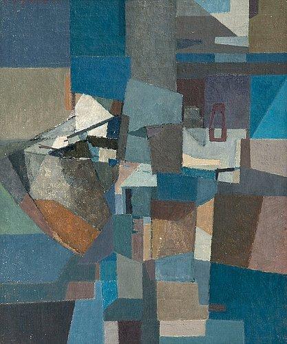 Per stenius, cubistic still life