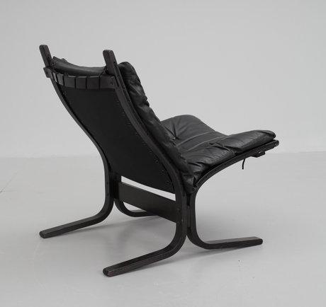 Fåtölj, ingmar rolling, westnofa furniture, norge, 1970-tal.