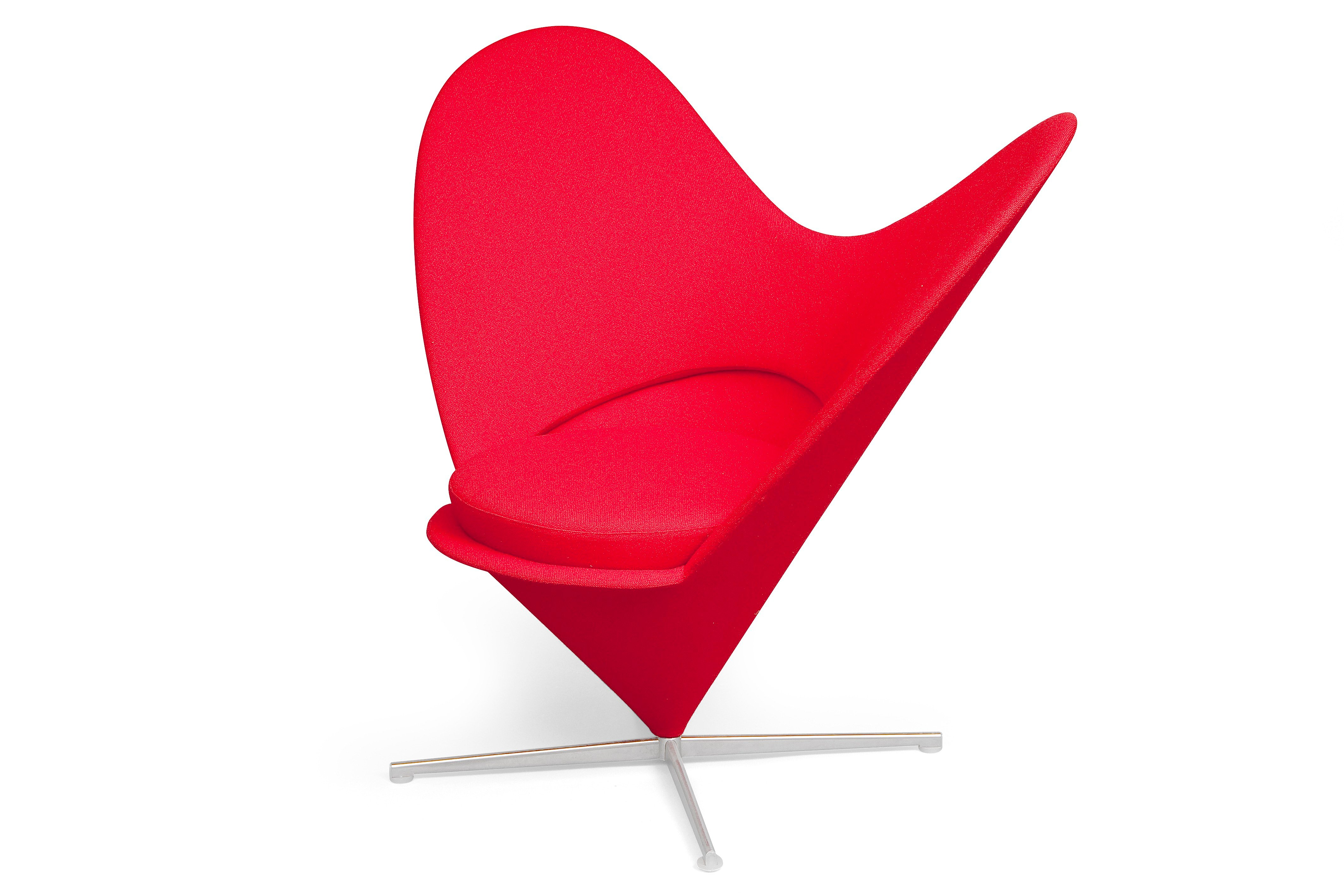 Verner panton heart cone chair bukowskis for Chaise vitra bureau