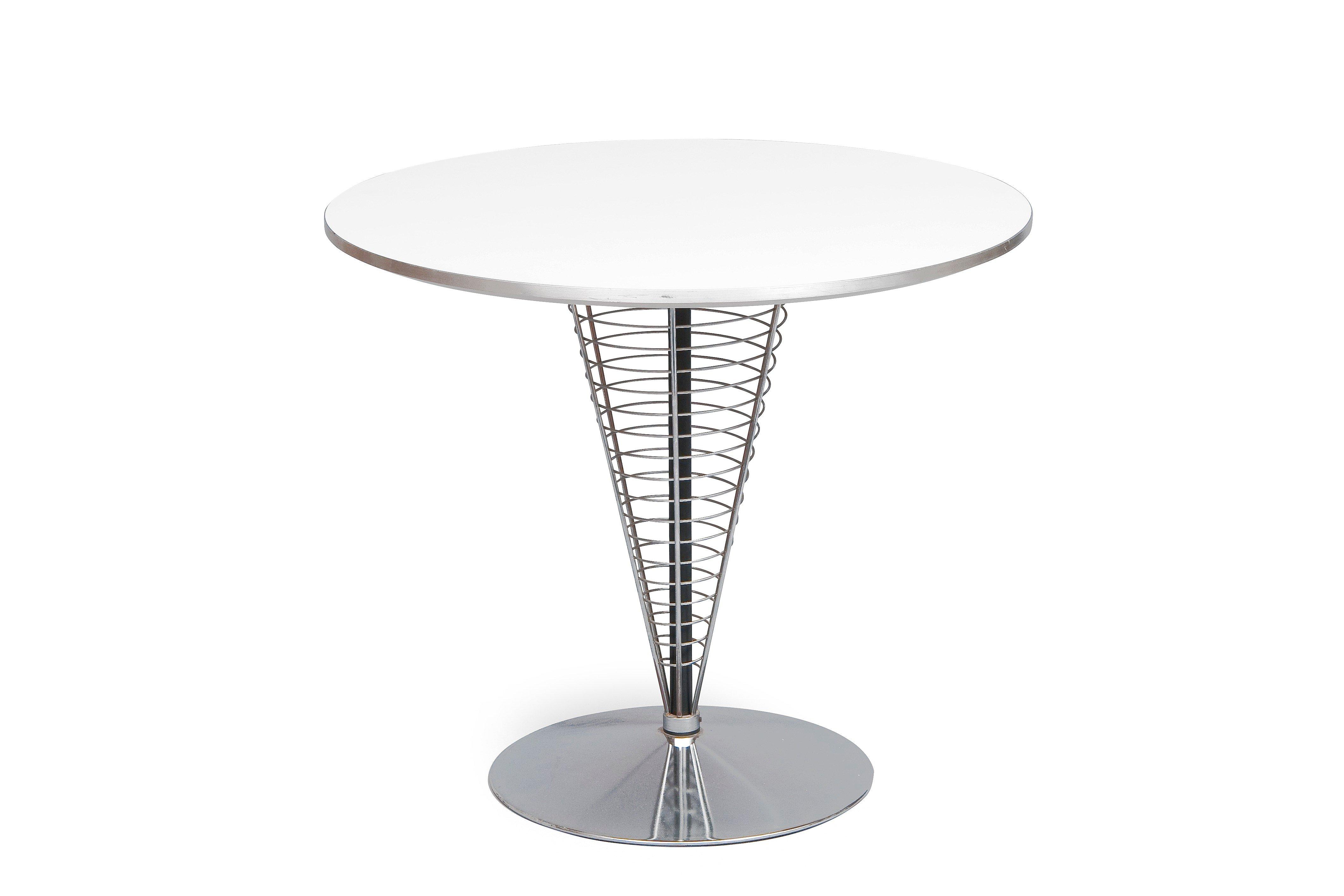 verner panton wire cone table bukowskis. Black Bedroom Furniture Sets. Home Design Ideas