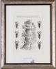 Pehrson, karl-axel. litografier, 3st. sign, numr o dat.