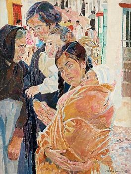 "35. Carl Wilhelmson, ""En la Calle""."