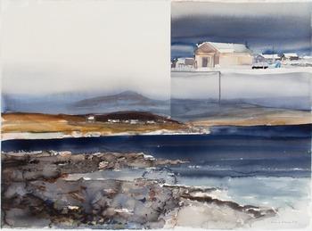 "279. Lars Lerin, ""Shetland""."