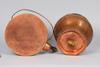 Kaffepanna samt kruka, koppar, 1800 tal